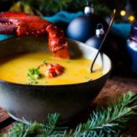 Smoky Kreeftensoep met Jenever - Royale soep