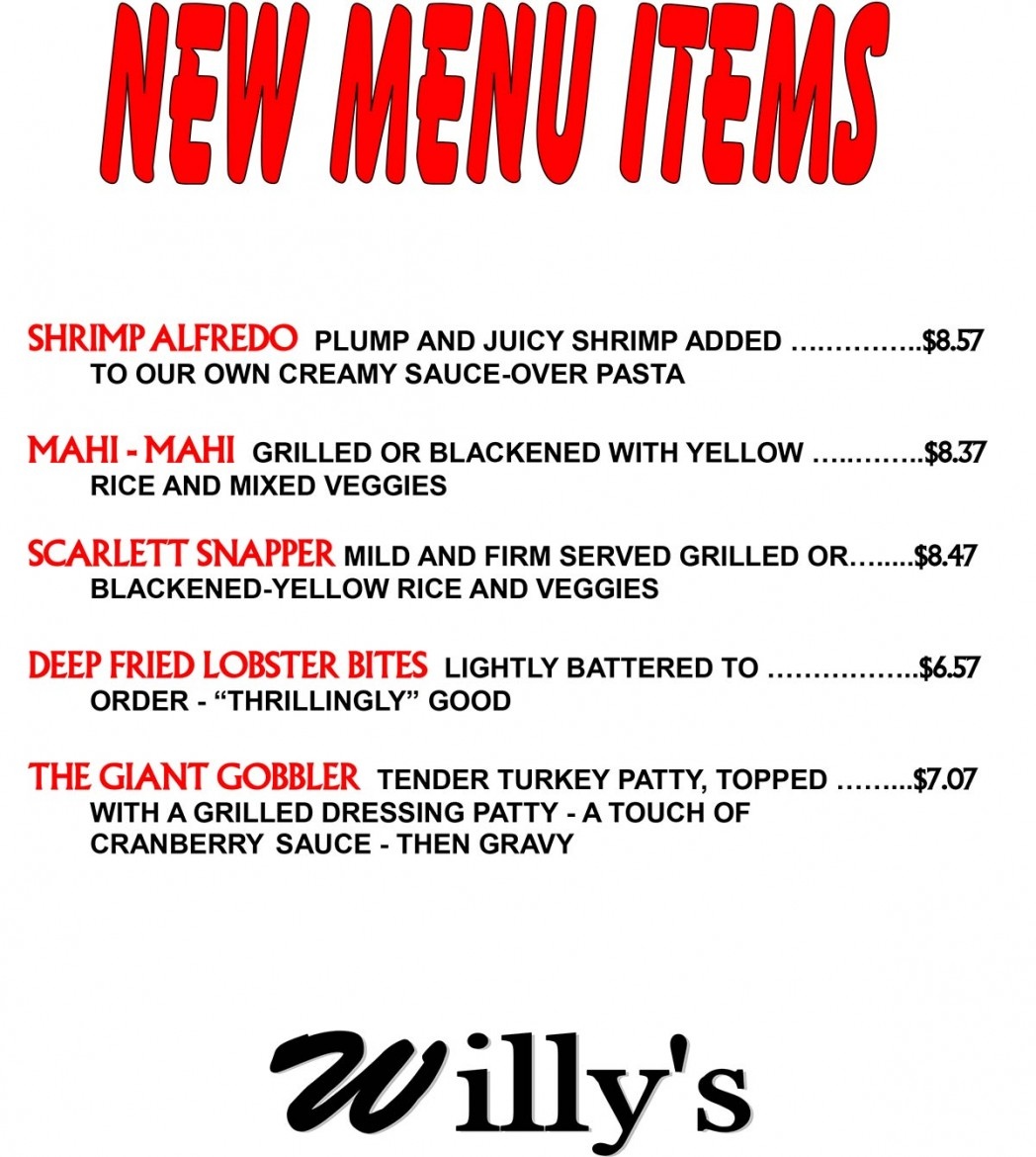 REVISED-Willy's-New-Menu-Items