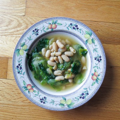 Escarole & Cannellini Bean Soup