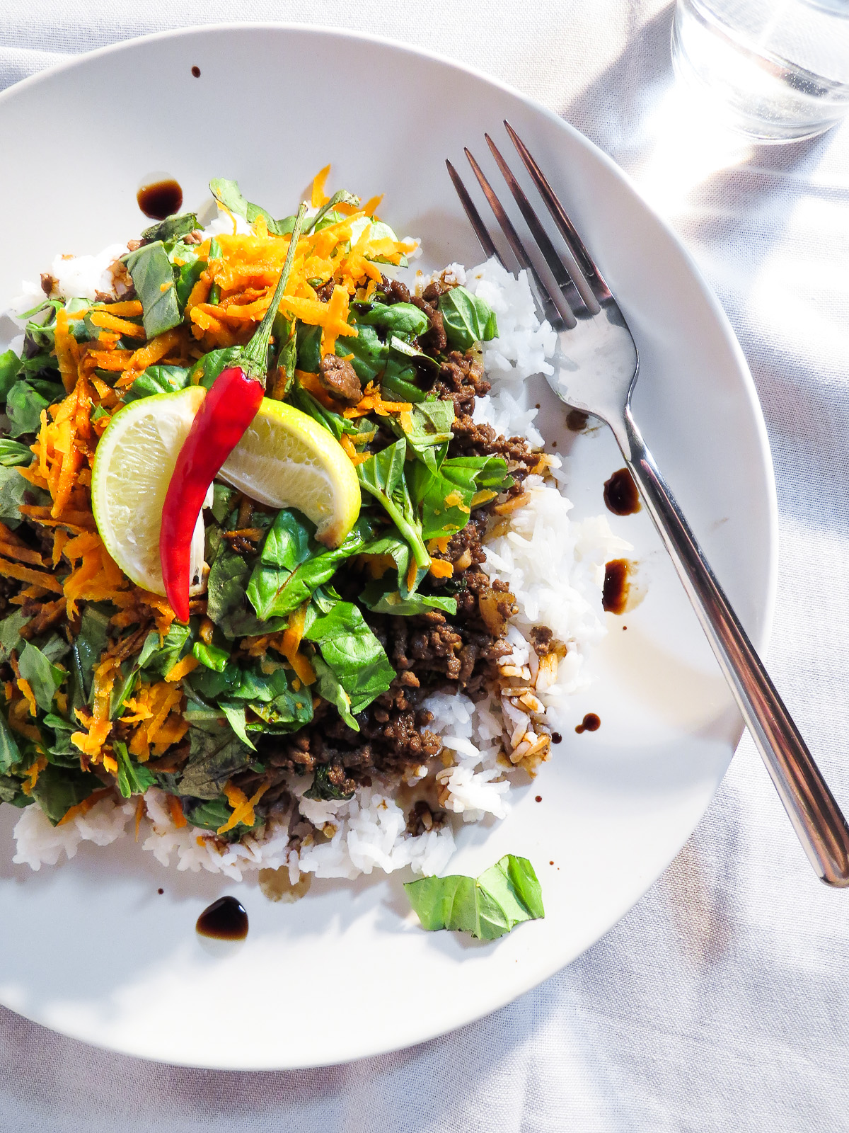 Thai Chilli Basil Beef