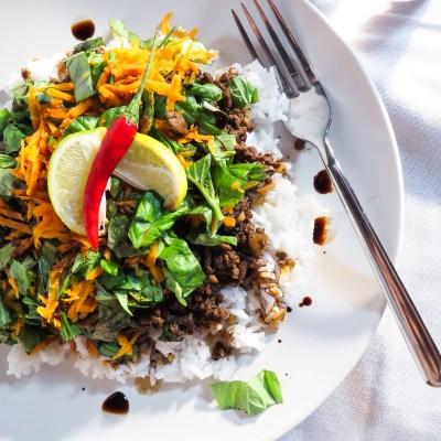 Thai Chilli Basil Beef