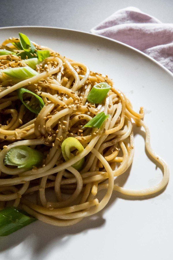 With a little hint of a kick from hot chilli oil, this Easy Sesame Noodles recipe is sure to liven up your packed lunches!