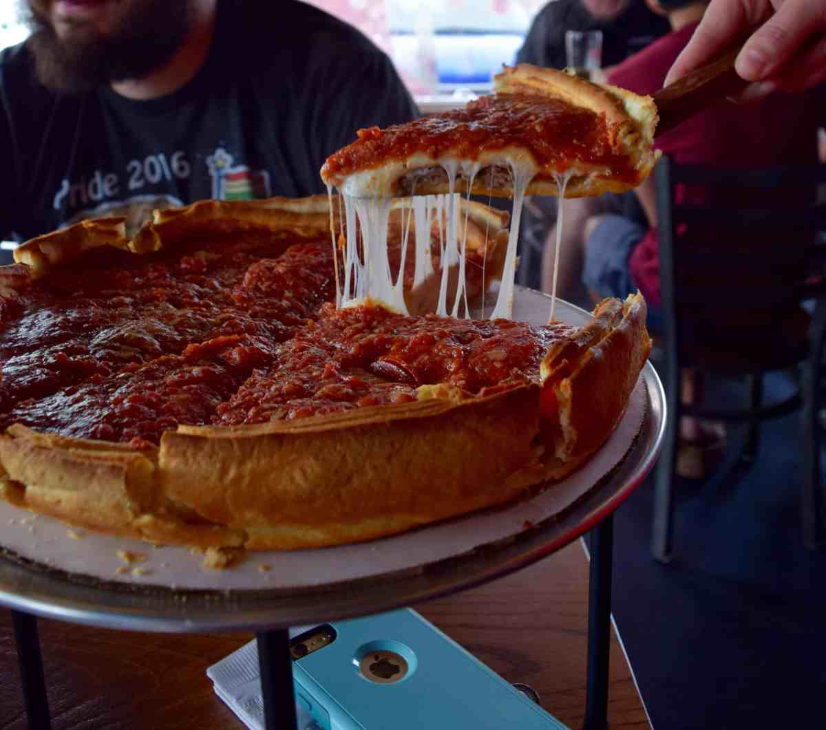 Giordano's is in Columbus!