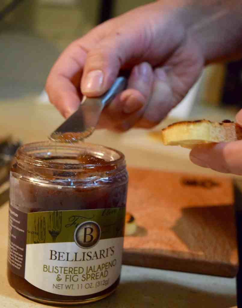 Grilled Crostini + Bellisari's Spreads // The Beard and The Baker