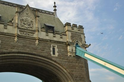 Tower Bridge, on the hottest day of the year