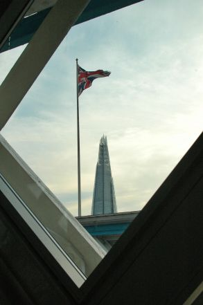 The Shard in the distance