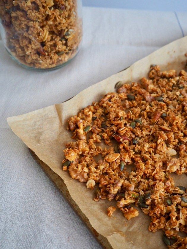 The Bearded Bakery - Granola Recipe