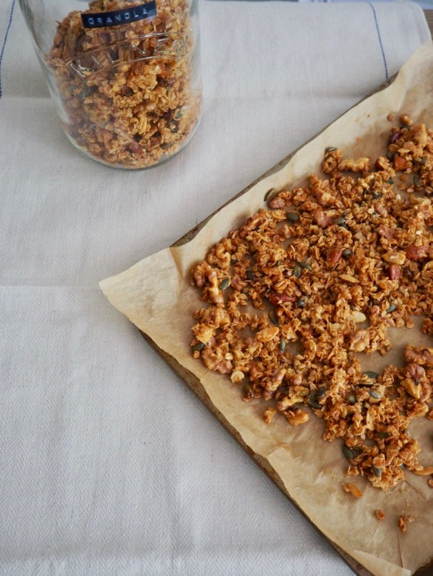 The Bearded Bakery - Coconut Granola