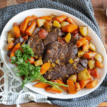 Instant Pot Cola Pot Roast - comfort food at your fingertips!