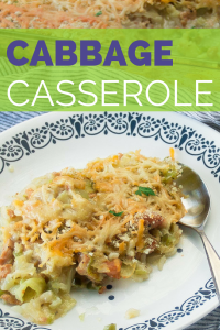 Cabbage casserole is the perfect combination of cabbage, cheese, ground beef - all baked up for the perfect crowd pleaser!