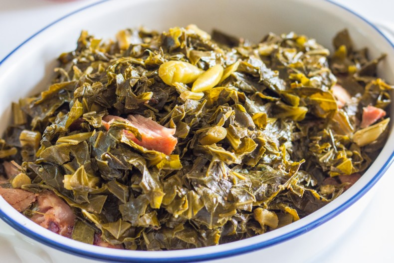 Tender southern collard greens - easy, healthy, and delicious!