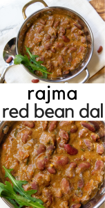 Rajma or kidney bean stew - Instant Pot vegetarian dish that is so simple and satisfying. You'll never miss the meat! It's a true dump and go meal. No browning, wilting, sauteing, just put it all in the pot and go!