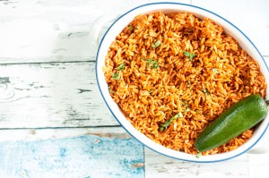Restaurant style Mexican Rice is my favorite side dish with Mexican food and it's so easy in the Instant Pot! style Mexican Rice - Instant Pot