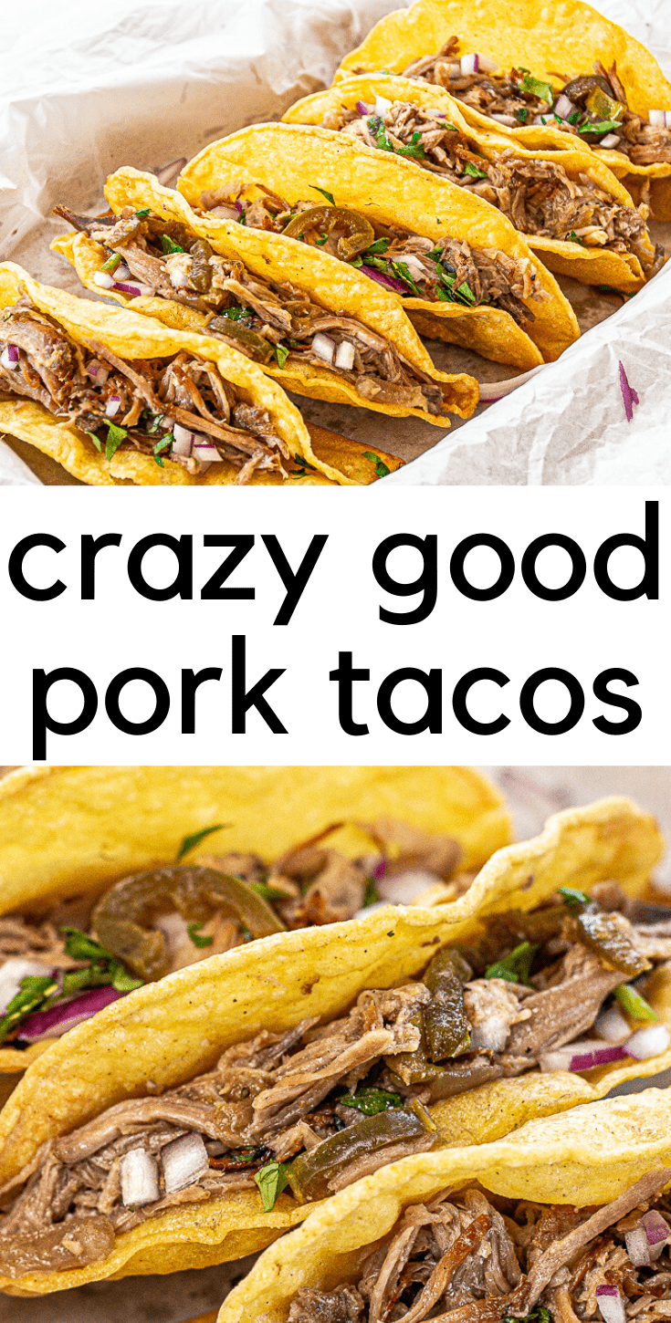 Crazy Delicious Pork Tacos (or Nachos or Burritos)