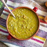 This is my absolute favorite split pea soup recipe - the most delicious in the universe!