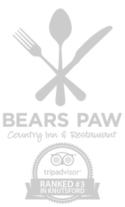 Bears Paw Country Inn & Restaurant Square Logo with Trip adviser rating