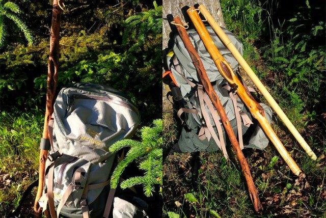 Backpack Bear Stick