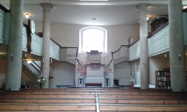 John Wesley's Chapel, Bristol, England