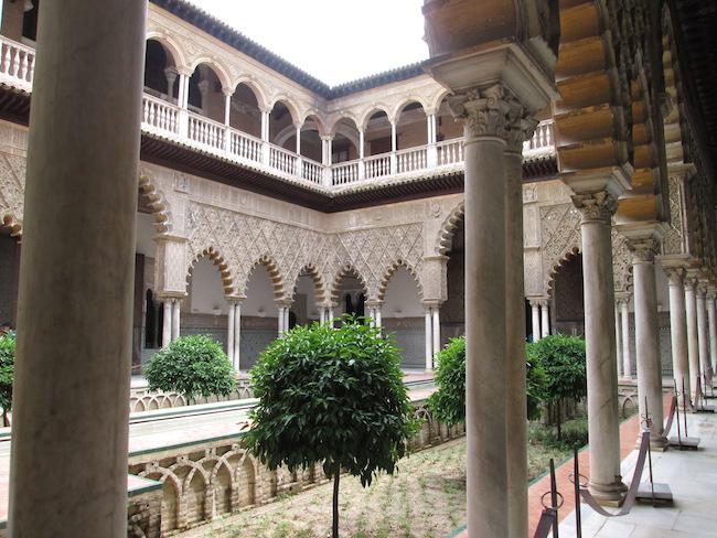 Real Alcazar Palace, Seville Spain