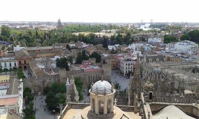 Giralda Tower view, Sevilla, Spain