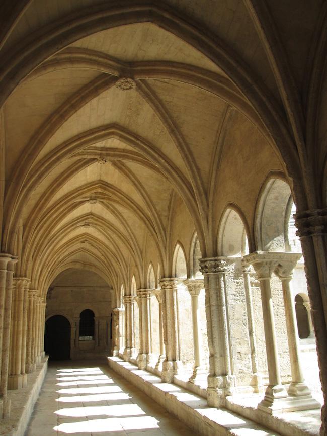 Church cloister in Arle