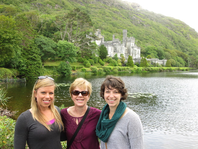 At the end of our Kylemore Abbey visit