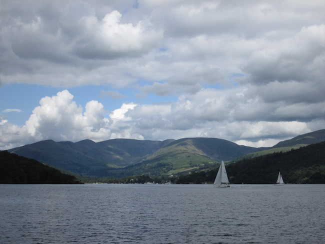 The beautiful Lake Windermere is a busy place.
