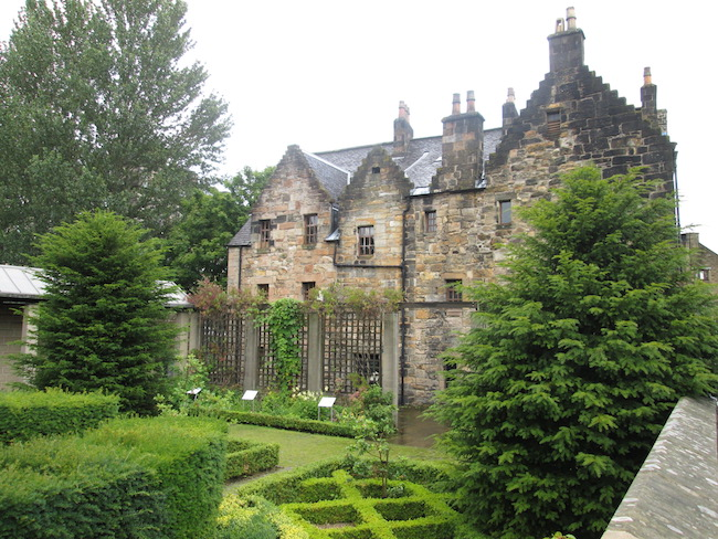 Provand's Lordship has a small medicinal garden hidden in the back.