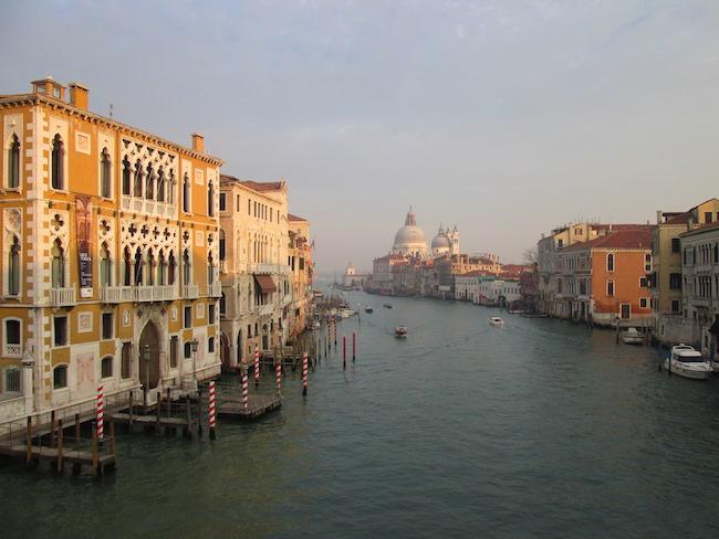 View from Academia Bridge