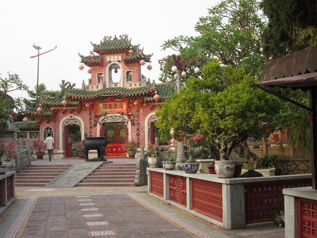 One of the beautiful temples in Hoi An