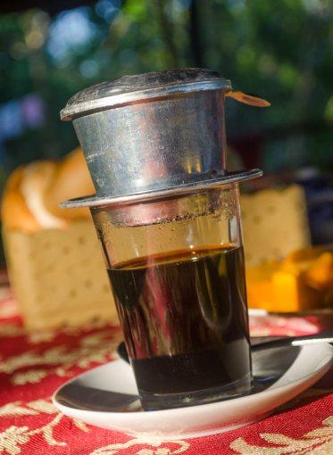 Vietnamese style coffee.