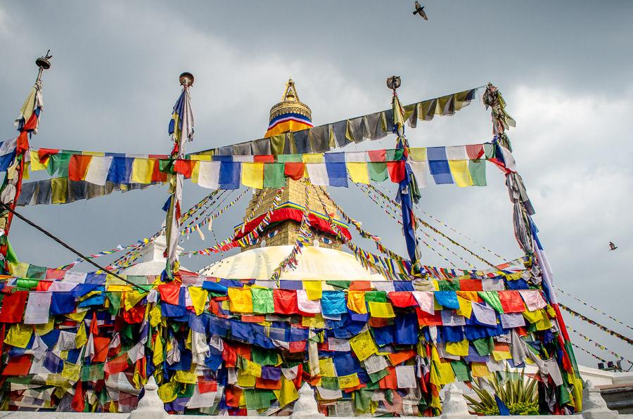 Boudhanath Temple, Kathmandu, Nepal