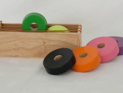 caja de experimentacion montessori
