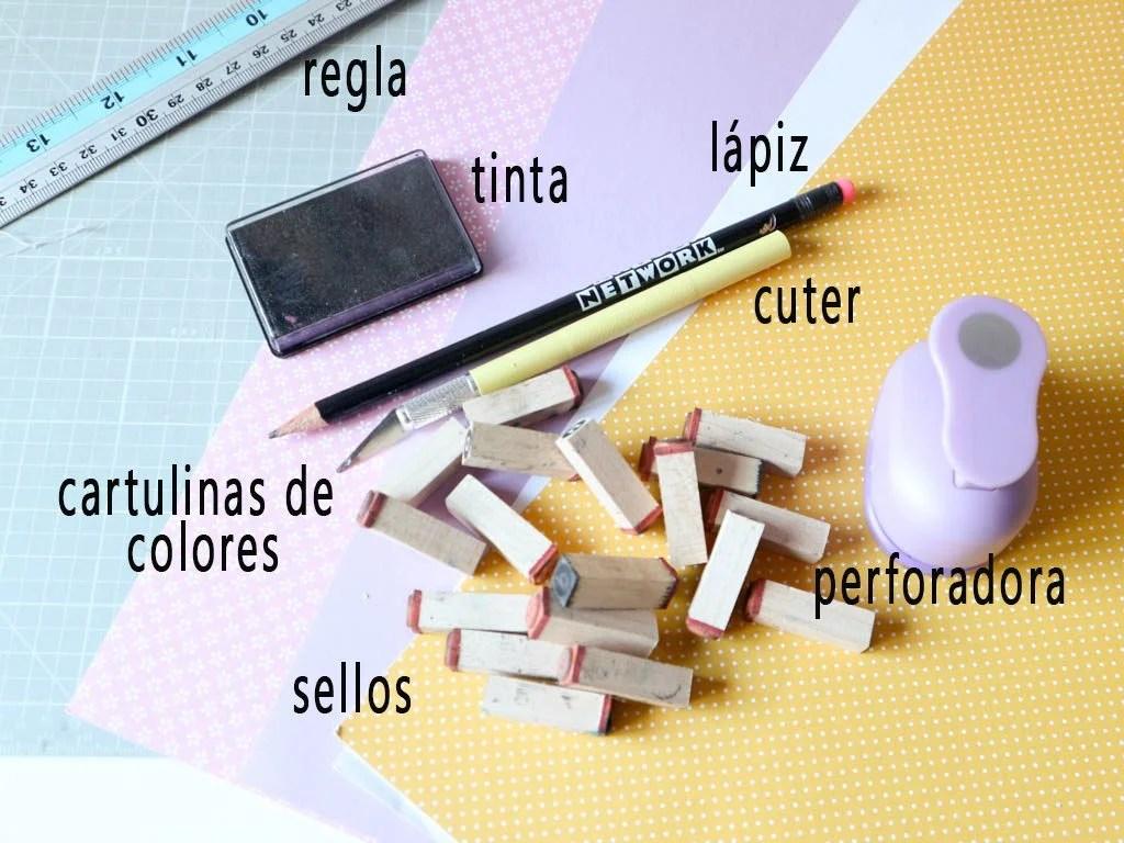 materiales para hacer separadores de ropa