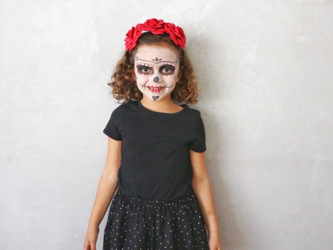 Disfraz Casero Para Halloween Disfraz De Catrina The Beautiful - Como-hacer-un-disfraz-casero-para-halloween