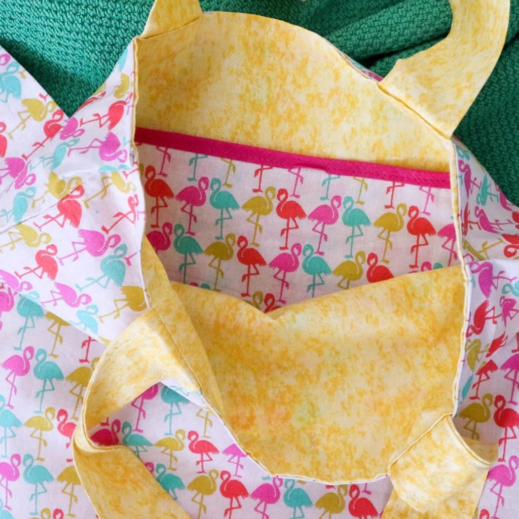 como hacer una bolsa de tela o tote bag