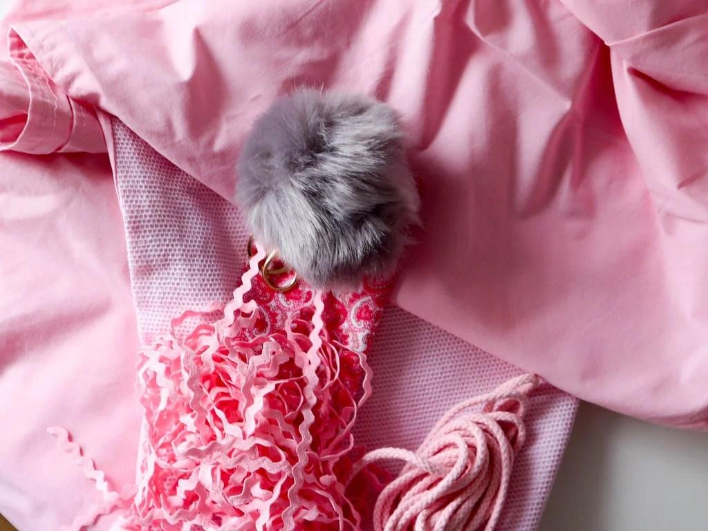 materiales para hacer una mochila de tela