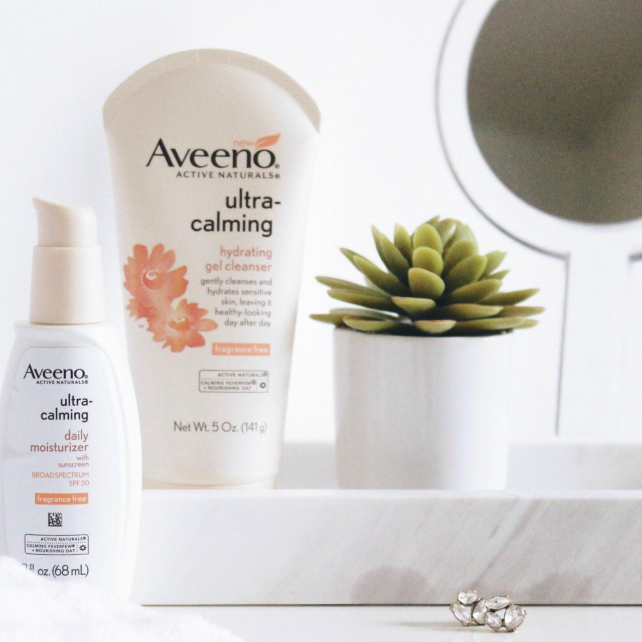 Ultra-Calming Skincare with Aveeno