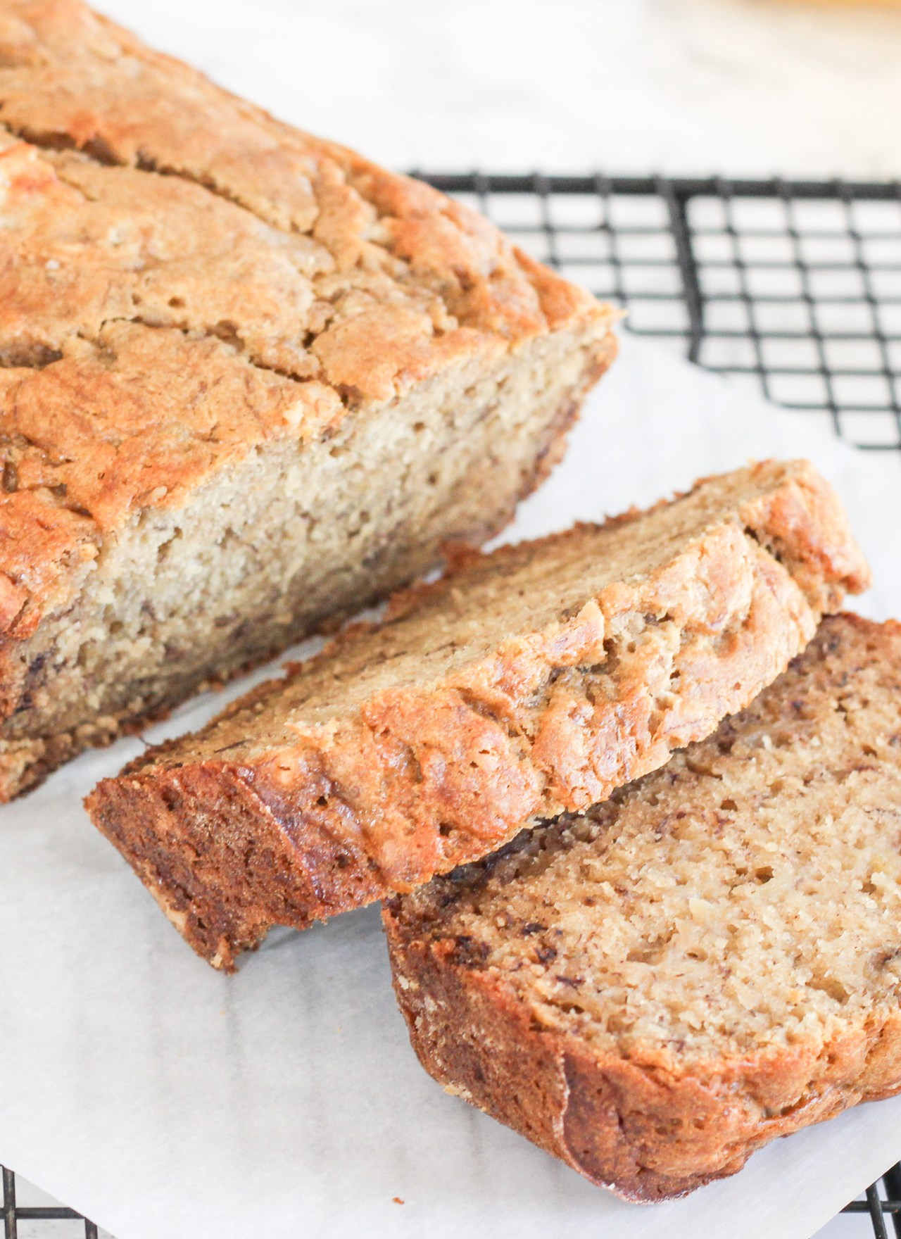 THE BEST HEALTHY BANANA BREAD RECIPE | BANANA BREAD RECIPE | EASY BANANA BEST |