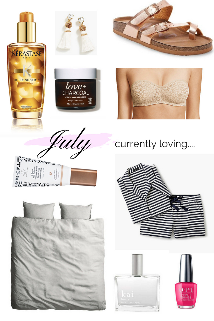 I hope you enjoy my most recent round-up of the 10 things I am currently loving July edition, included my favorite new pajamas and a skin loving charcoal mask. Find out more here....