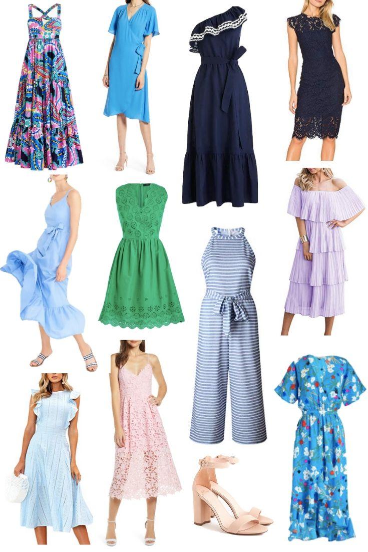PRETTY DRESSES FOR SUMMER WEDDINGS