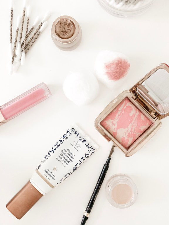 MY TOP 8 TRAVEL BEAUTY HACKS   I am sharing my top 8 travel beauty hacks on the blog today, including my best trick for eliminating bulky bottles and my favorite travel makeup hacks.