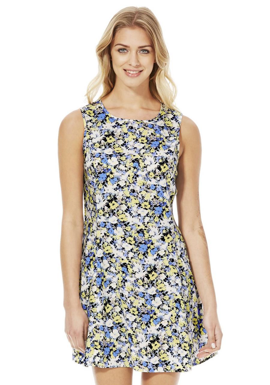 583357415bfd Wispy Floral Print Midi Dress Topshop