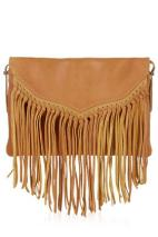 topshop tan cross body
