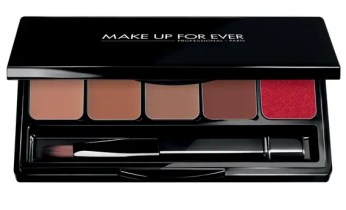 rocking a red lipstick
