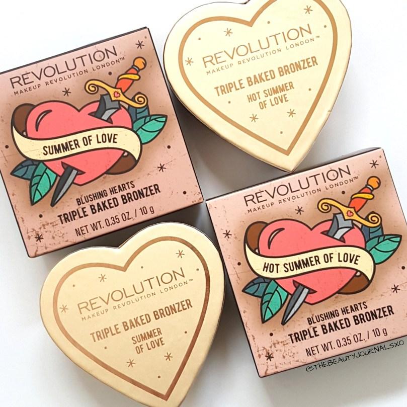 Makeup Revolution Blushing Hearts Bronzer Review