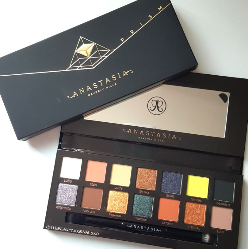 Anastasia Beverly Hills Prism Eyeshadow Palette Review and Swatches
