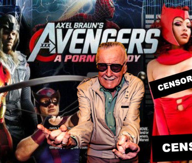 Stan Lee Set To Cameo In Future Marvel Porn Parodies