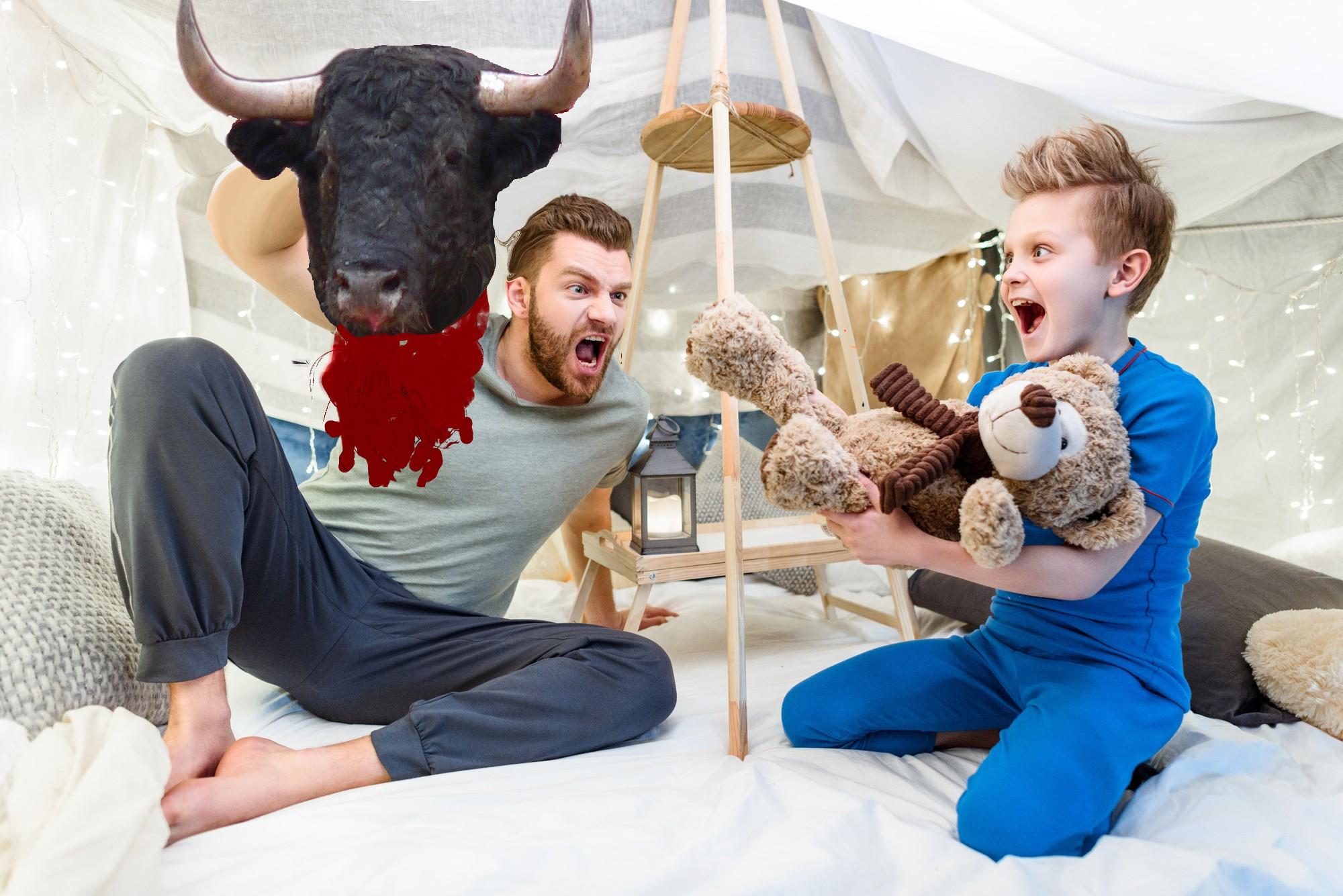 family finally decapitates minotaur