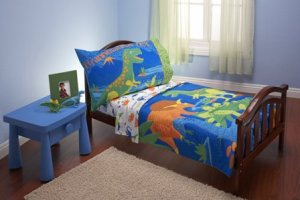 dinosaur-toddler-bedding